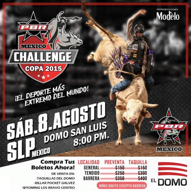 PBR Challenge Tour 2015 San Luis Potosí @ El Domo
