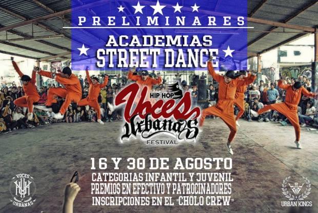 Preliminar Batallas Street Dance Voces Urbanas 2015 @ Jardín de Tequis