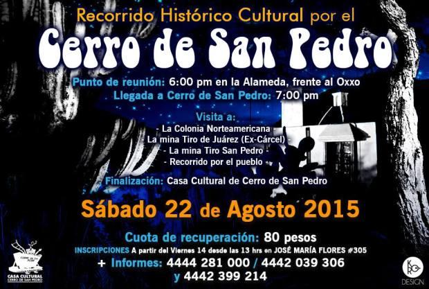 Recorrido cultural nocturno al Cerro de San Pedro @ Cerro de San Pedro | Cerro de San Pedro | San Luis Potosí | México