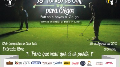 Photo of Invitan al 1er Torneo de Golf para Ciegos en San Luis Potosí