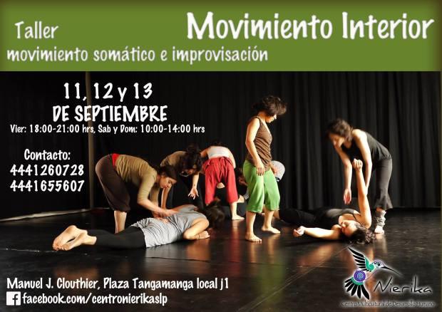 Taller: Movimiento interior @ San Luis Potosí | San Luis Potosí | México
