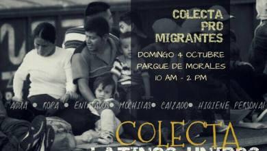Photo of Realizarán colecta en favor de migrantes que pasen por San Luis Potosí
