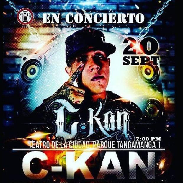 C-Kan en San Luis Potosí @ Teatro de la Ciudad | San Luis Potosí | San Luis Potosí | México