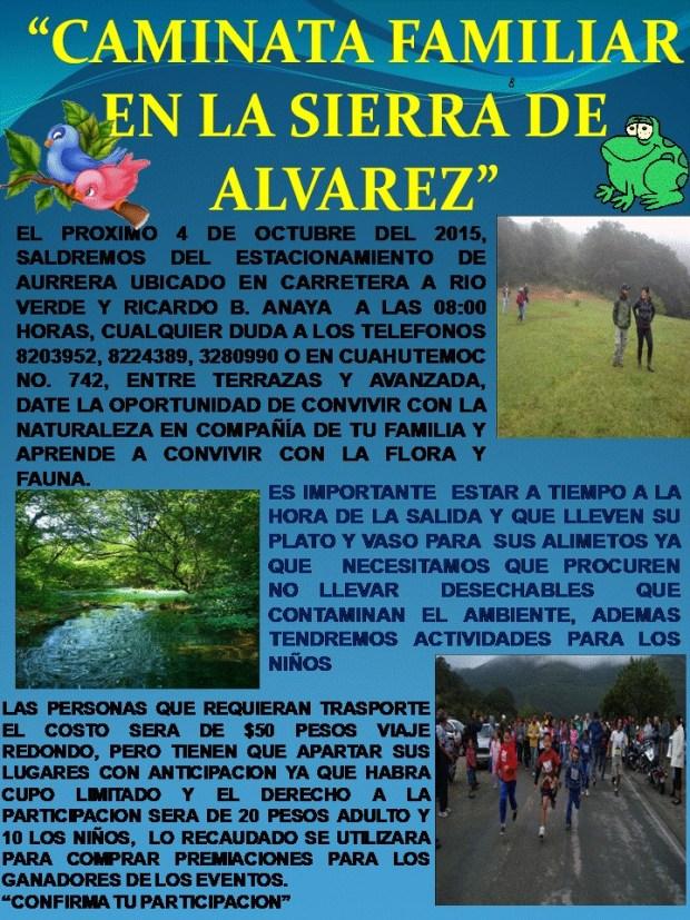 Caminata Familia A la Sierra de Álvarez