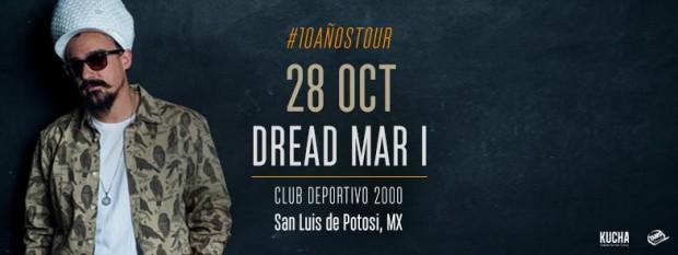 Dread Mar I en San Luis Potosí