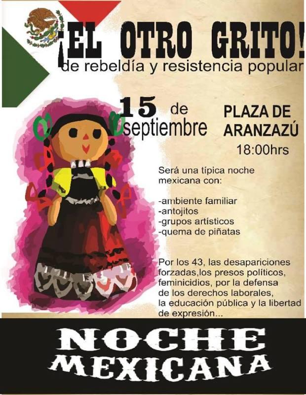 El otro grito @ Plaza de Aranzazú
