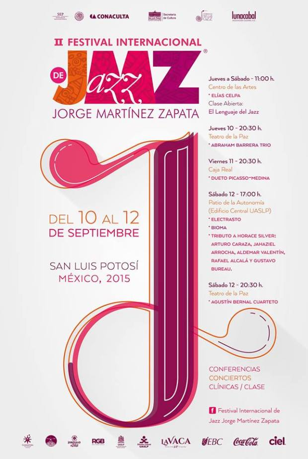 2° Festival Internacional de Jazz Jorge Martínez Zapata