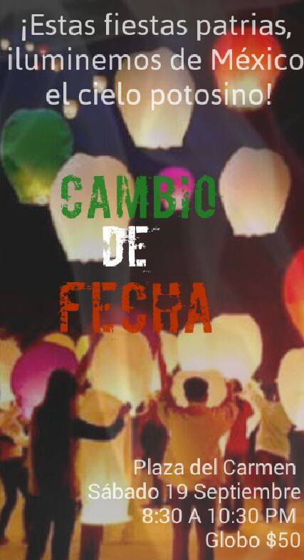 Fiesta de globos de cantoya mexicana @ Plaza de los Fundadores | San Luis Potosí | San Luis Potosí | México