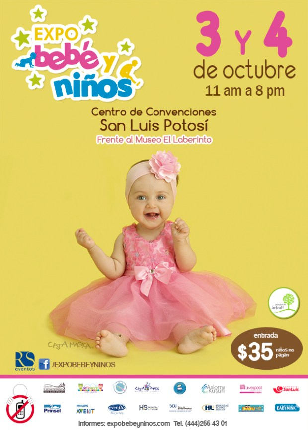 Expo bebé y niños San Luis Potosí 2015 @ Centro de Convenciones de San Luis Potosí | San Luis Potosí | San Luis Potosí | México