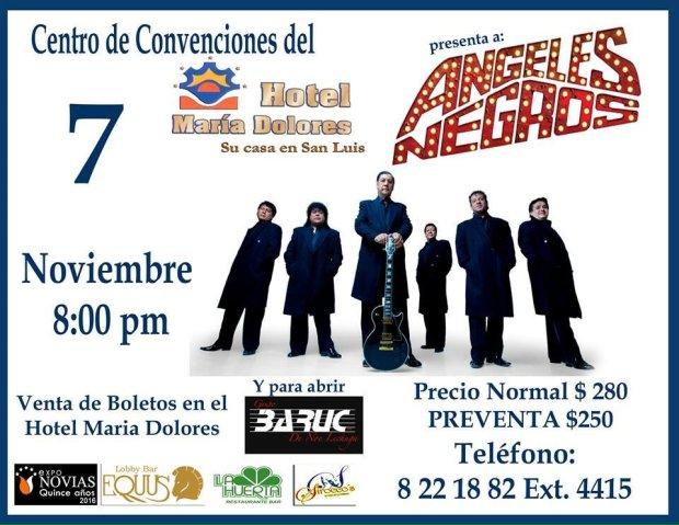 Angeles Negros @ Centro de Convenciones del Hotel María Dolores