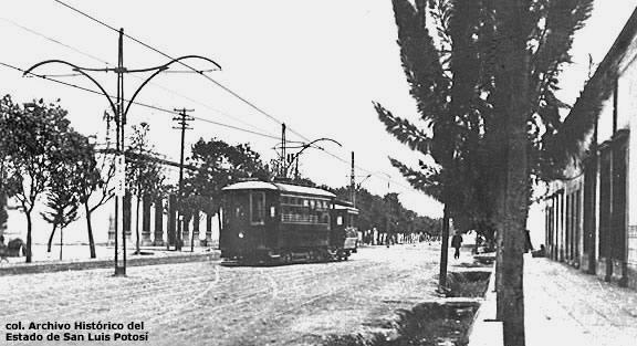 Avenida Carranza antigua san luis potosí