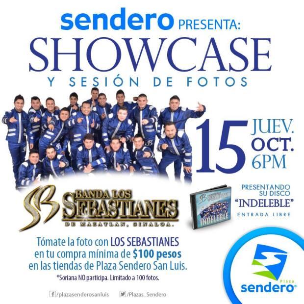 Showcase de Los Sebastianes @ Plaza Sendero | San Luis Potosí | San Luis Potosí | México