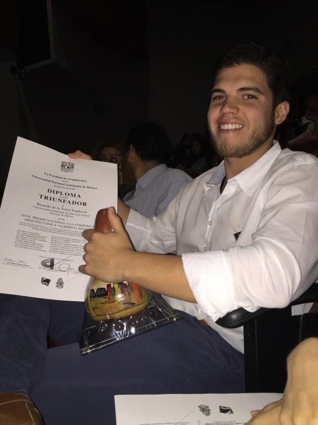 Estudiante Ricardo de la Torre Sandoval