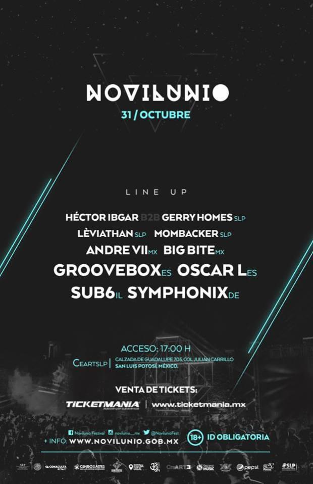 Novilunio Festival 2015 @ Centro de las Artes de San Luis Potosí
