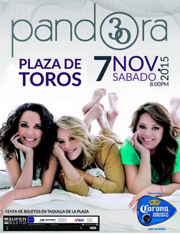 Pandora en San Luis Potosí @ Plaza de Toros el Paseo | San Luis Potosí | San Luis Potosí | México