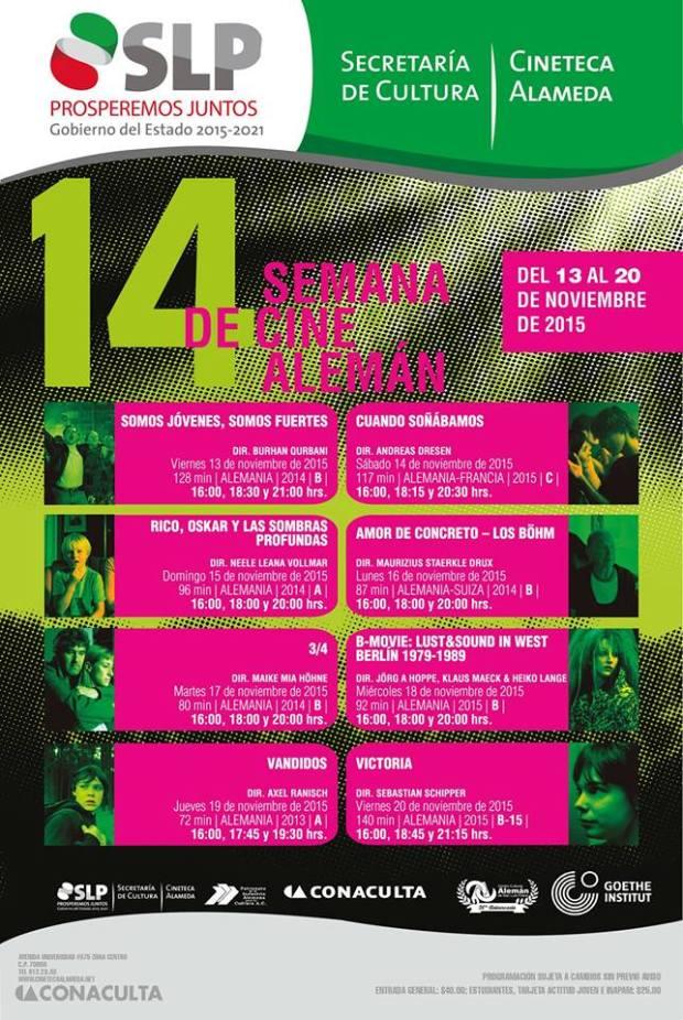 14 Semana de Cine Aleman @ Cineteca Alameda