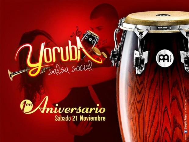 1er Aniversario Yoruba Salsa social