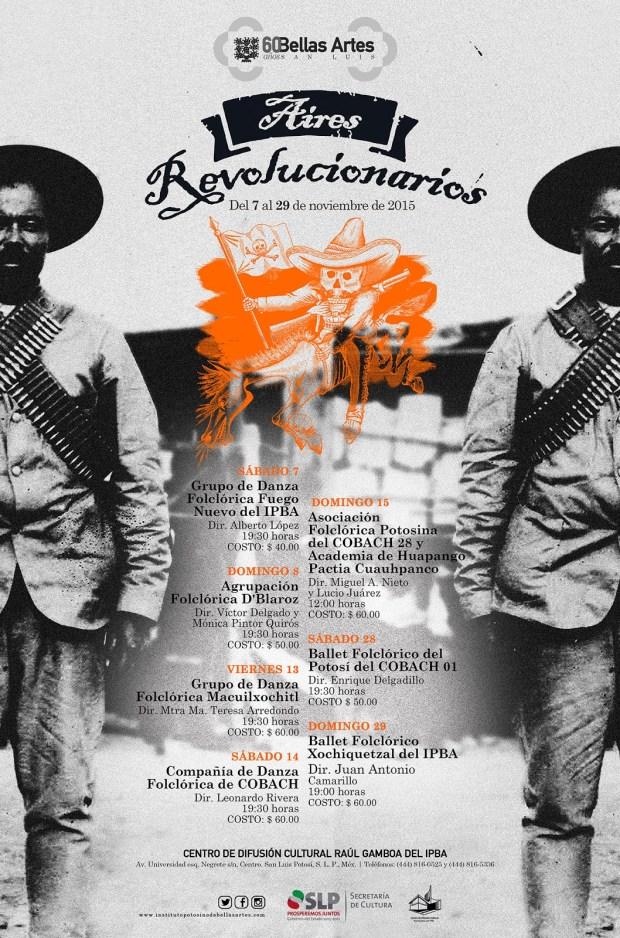 Aires Revolucionarios @ Instituto Potosino de Bellas Artes