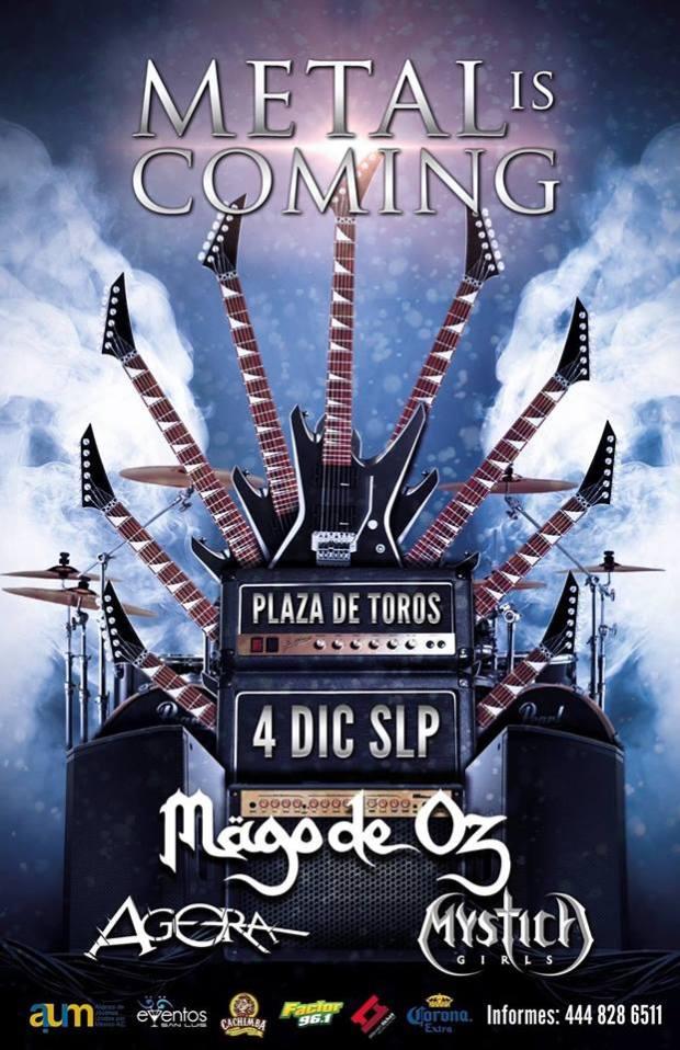 Mago de Oz San Luis Potosí @ Plaza de Toros el Paseo | San Luis Potosí | San Luis Potosí | México