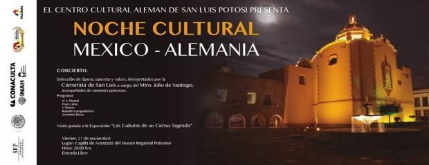 Noche Cultural Alemania Mexico