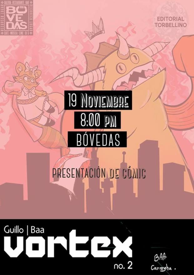 Presentación del cómic Vortex 2 @ Las Bovedas