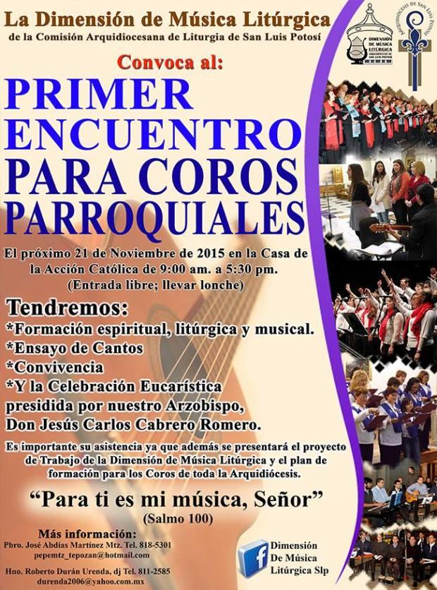 Primer Encuentro de Coros Parroquiales @ Casa de la Acción Católica