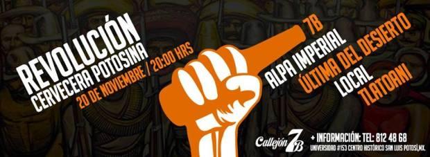 Revolución Cervecera Potosina @ Callejón 7B | San Luis Potosí | San Luis Potosí | México