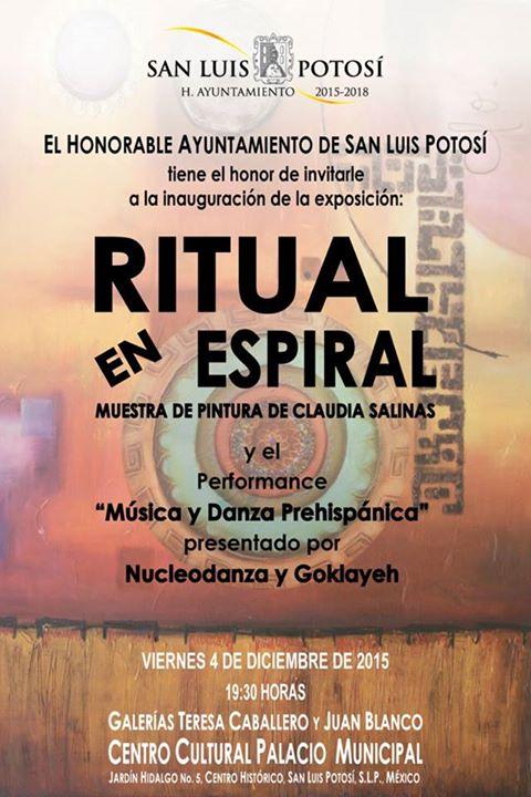 Ritual en Espiral @ Centro Cultural Palacio Municipal