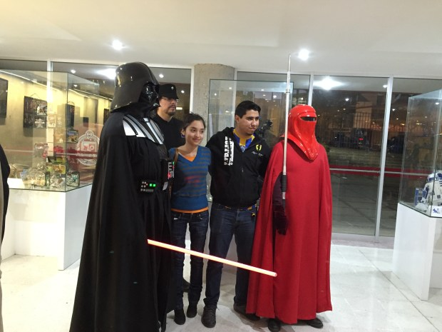 Muestra Star Wars en la Facultad de Ingeniería de la UASLP (2)
