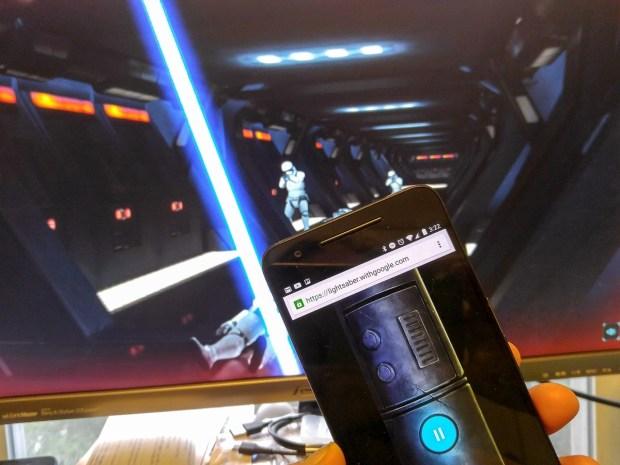 celular laser