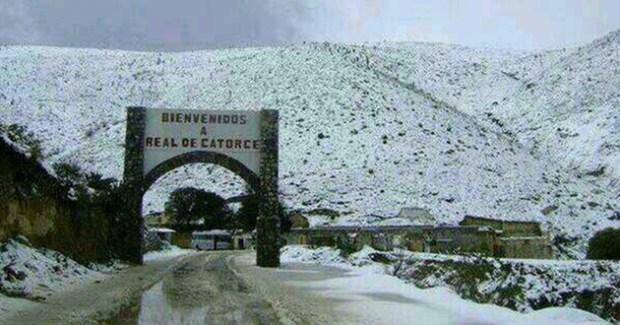 Real de Catorce nieve