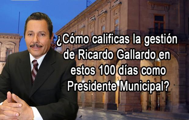 Ricardo Gallardo Encuesta
