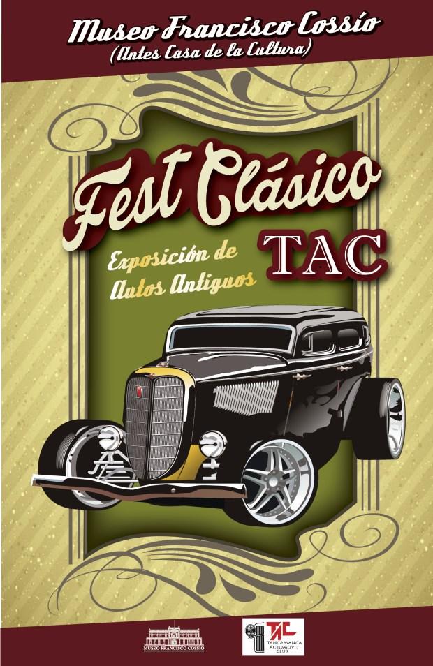 Feat Clásico Tac (exposición de autos antiguos) @ Museo Francisco Cossío