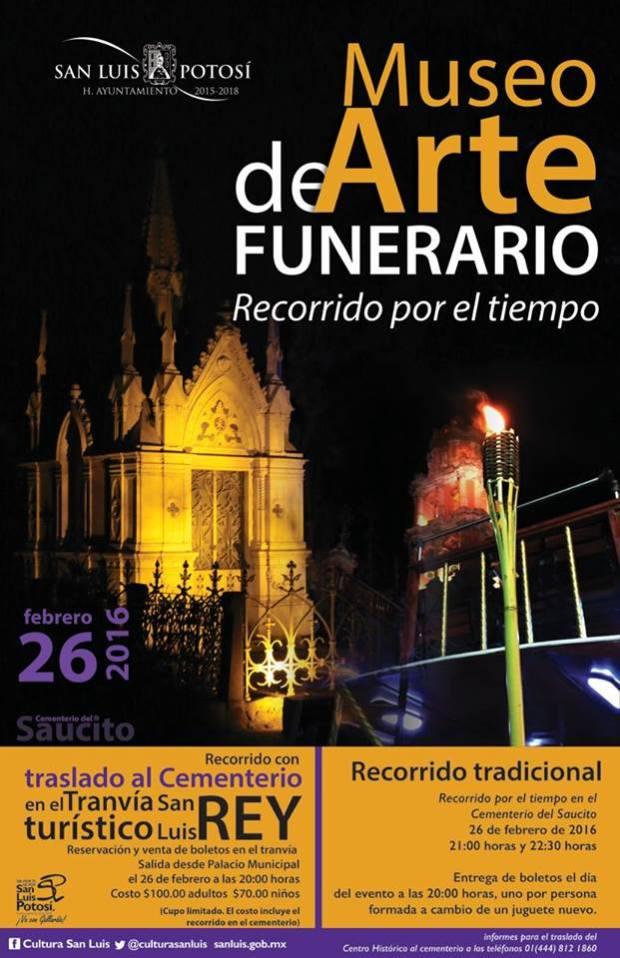 Recorrido en el Museo de Arte Funerario @ Cementerio del Saucito | San Luis Potosí | San Luis Potosí | México