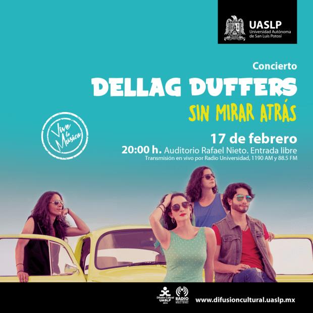 Concierto:Dellag Duffers @ Auditorio Rafael Nieto