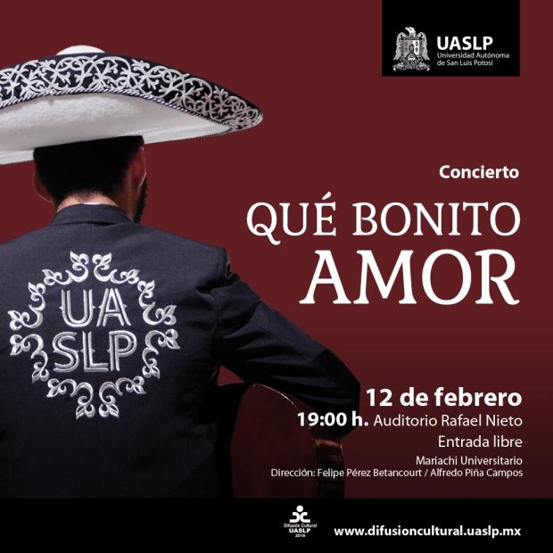 Concierto: Qué bonito amor @ Auditorio Rafael Nieto