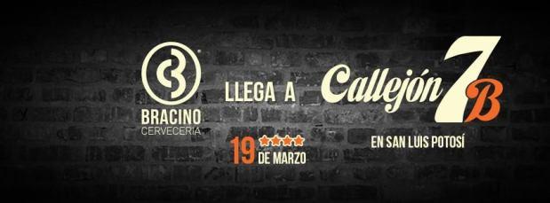 Bracino llega a Callejón 7B @ Callejón 7B | San Luis Potosí | San Luis Potosí | México