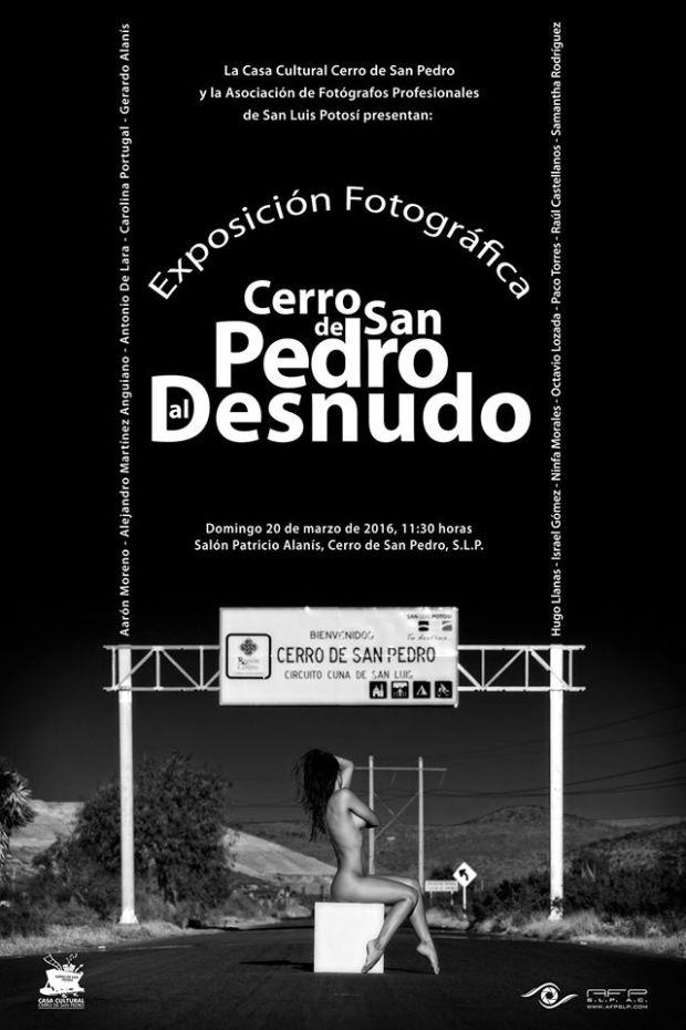 Cerro de San Pedro al Desnudo Exposición Fotográfica