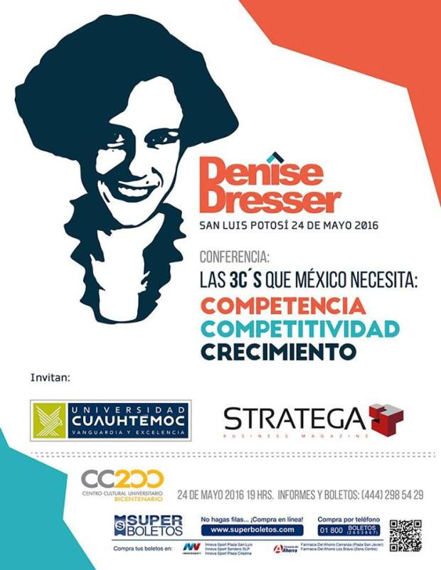 Denise Dresser en San Luis Potosí