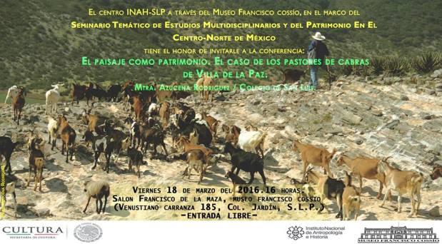 Conferencia: El Paisaje como patrimonio @ Museo Francisco Cossío