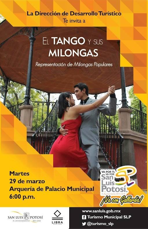 El Tango y sus milongas @ Centro Cultural Palacio Municipal