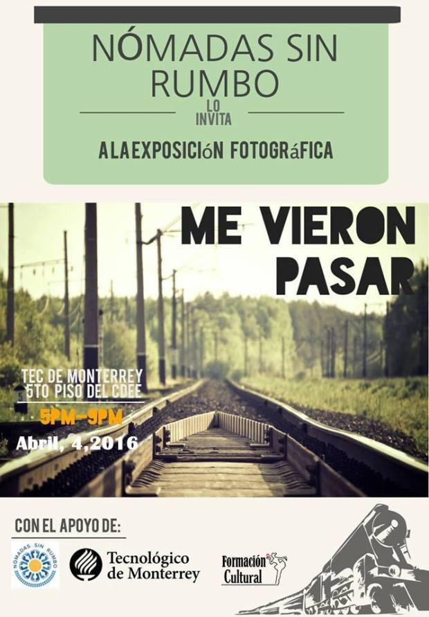 "Exposición Fotográfica ""Me vieron pasar"" @ Tec Monterrey Campus"