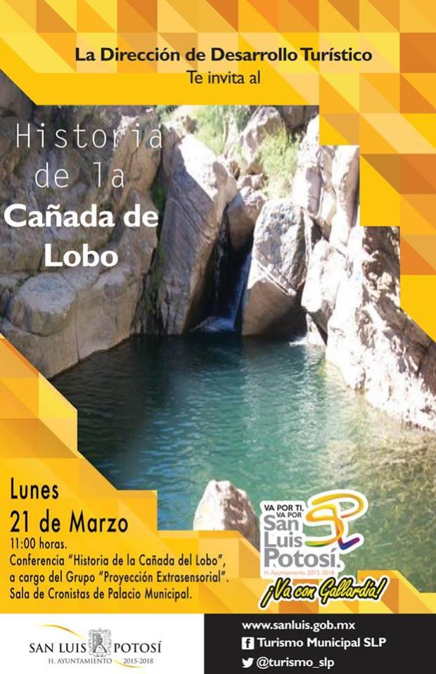 Conferencia: Historia de la Cañada del Lono @ Centro Cultural Palacio Municipal