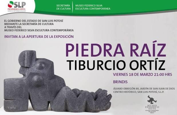 Inauguración exposición: Tiburcio Ortíz. Piedra-Raíz @ Museo Federico Silva