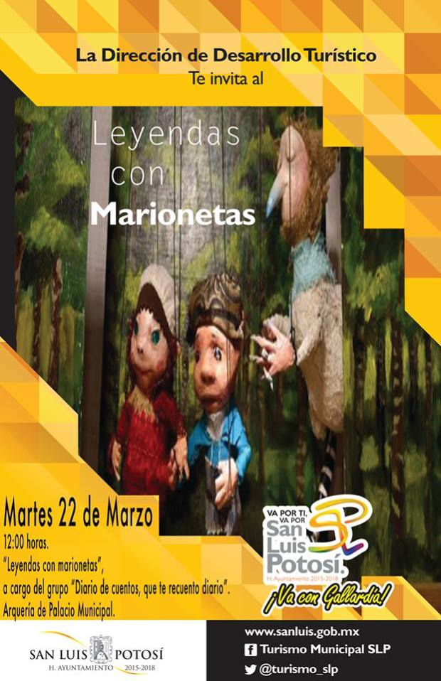 Leyendas con marionetas
