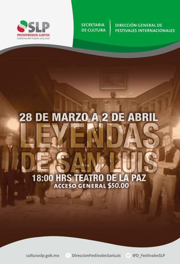 Leyendas de San Luis @ Teatro de la Paz