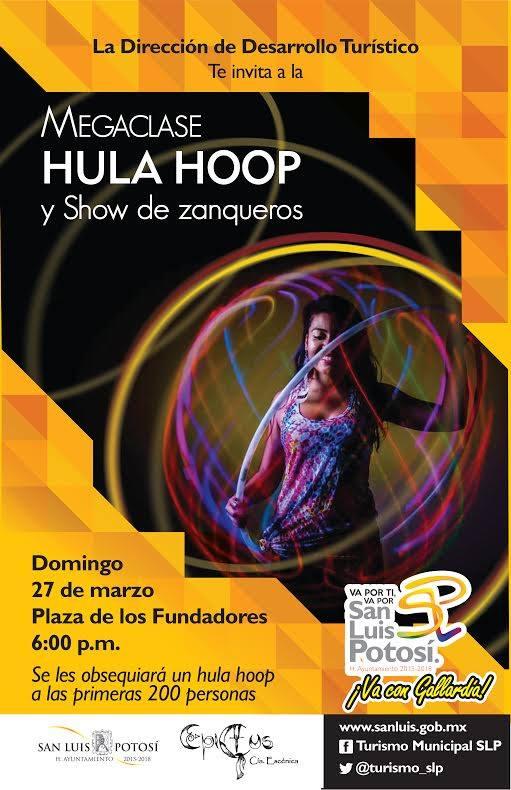 Mega clase Hula Hoop y show de zanqueros @ Plaza de los Fundadores | San Luis Potosí | San Luis Potosí | México