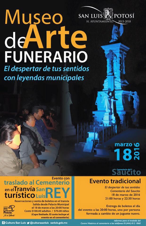 Recorrido al Museo Arte Funerario @ Cementerio del Saucito | San Luis Potosí | San Luis Potosí | México