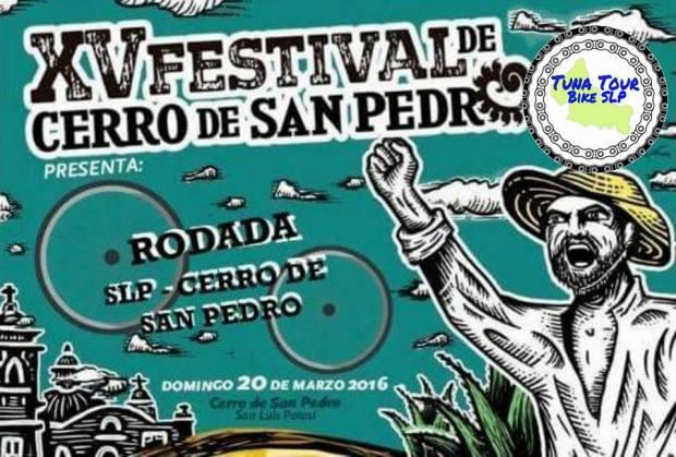Rodada el Festival del Cerro de San Pedro