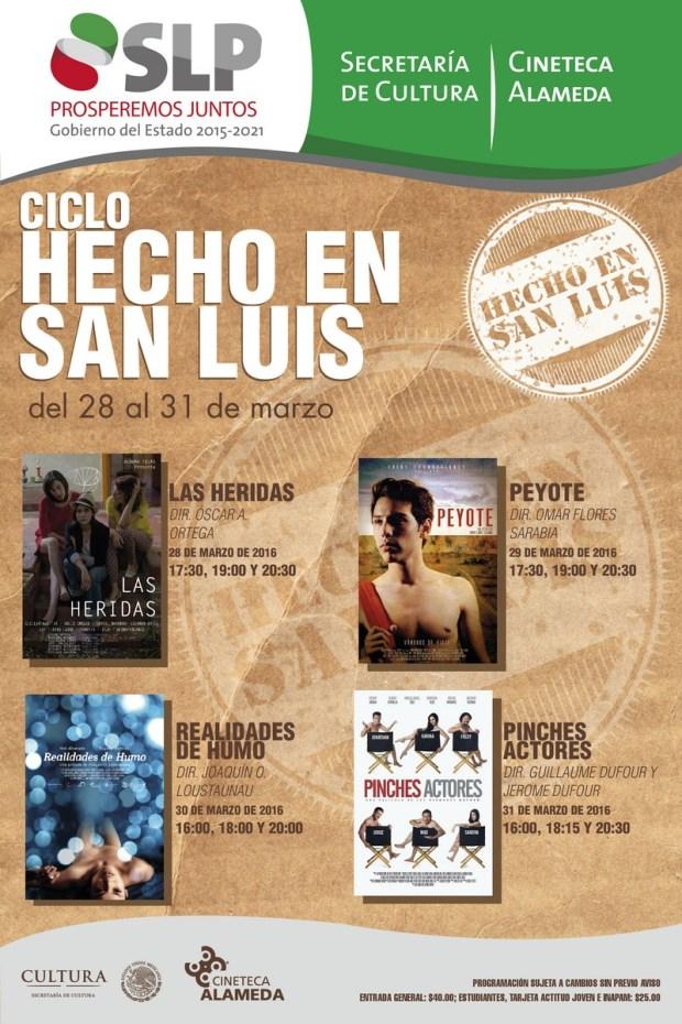 """Ciclo """"Hechos en San Luis"""" @ Cineteca Alameda"""